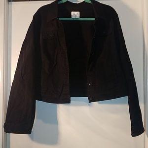 ELLE black Jean jacket - brand new